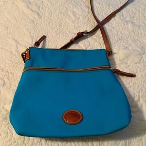 Gently used DB canvas crossbody